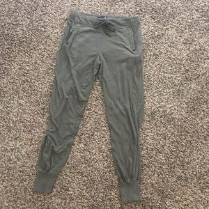 Cotton On Pants - Olive Cotton Joggers